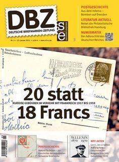 Titelbild der Deutschen Briefmarken-Zeitung 3/2015