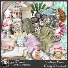 kit Vintage Flair by Leigh Penrod Digital Designs http://www.godigitalscrapbooking.com/shop/index.php?main_page=index&cPath=29_387