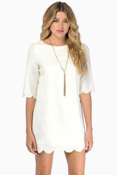 979002df314c4 23 Best White scalloped skirt or dress images in 2015 | Scalloped ...