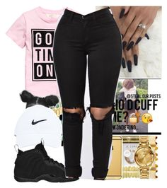""""""""""" by colorkiller ❤ liked on Polyvore featuring NIKE"""