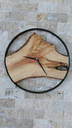 Ahşap duvar saat ahsap wood clock