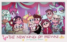The New King Of Mewni  by:gravityfying (But I Found This In Rad-Star's Tumblr).