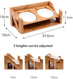 Cat Feeding Station, Dog Feeding, Food Stands, Pet Feeder, Cat Room, Pet Furniture, Animal Projects, Pet Bowls, Pet Accessories