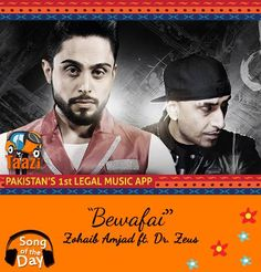 #Bewafai by Zohaib Amjad Ft Dr Zeus making waves all over the internet. Stream & Download it now:http://taazi.com/bewafai-by-zohaib-amjad-ft.-dr-zeus Beyond Studios Beyond Records #RnB #Soul #Love