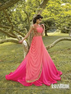Wedding Dresses Indian Gowns Ideas For 2019 Indian Gowns Dresses, Pakistani Dresses, Indian Outfits, Pink Gowns, Collection Eid, Dress Outfits, Fashion Dresses, Evening Dresses, Prom Dresses