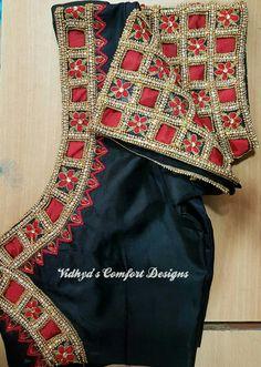 Cutwork Saree, Cutwork Embroidery, Embroidery Designs, Pattu Saree Blouse Designs, Bridal Blouse Designs, Cut Work Blouse, Aari Work Blouse, Patch Work Blouse Designs, Diana