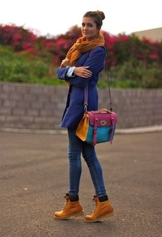 7f40fe06c72e Top 5 Street Style Inspiration  Spring 2014 Timberland Outfits Women