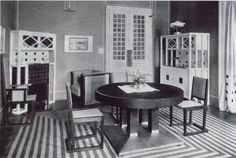 Josef Hoffmann Residential Interiors | Decoration As Composition