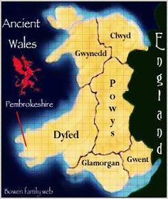 Map of Ancient Wales was talking about Clwyd just yesterday! Learn Welsh, Welsh Language, Visit Wales, Legends And Myths, England, Cymru, North Wales, British History, Historia