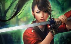 Fantasy - Women Warrior Wallpaper