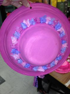 Plate and Bowl Hat Mother\u0027s Day & Mothers day ...a hat for mom made out of a paper plate a paper bowl ...
