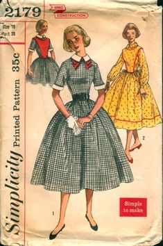 Simplicity 2179.....Wish I could make this!