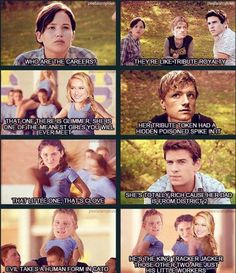 Hunger games meets mean girls too funny!