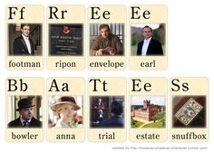 Downton Abbey flash cards - too funny! Julian Fellowes, Public Television, Best Tv Shows, Downton Abbey, Breakup, Real Life, Literature, Anna, Entertaining