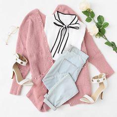 Girly Outfits – Page 2847167069 – Lady Dress Designs Cute Swag Outfits, Girly Outfits, Pretty Outfits, Stylish Outfits, Teen Fashion Outfits, Mode Outfits, Outfits For Teens, Fashion Women, Fashion Fall