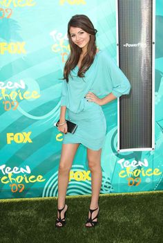 Victoria Justice, Teen Choice Awards, Los Angeles, August 9, 2009
