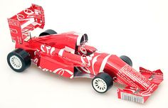 Recycled Tin Can F1 Car by ModernVintageGiftCo on Etsy https://www.etsy.com/listing/265054636/recycled-tin-can-f1-car