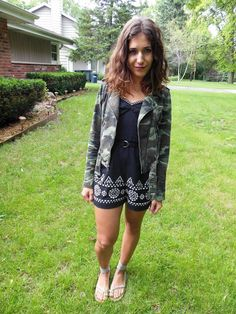 {My Style} The perfect black and white romper from Anthropologie <3 Midwest Fashion Blog | Talita Taiti | Fashion & Lifestyle Blogger