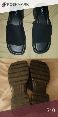 Black sandals CLUNKY Black sandals Shoes Mules & Clogs