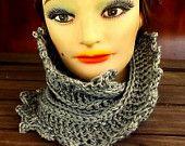 LAUREN Crochet Scarf Pattern Crochet Infinity Scarf Pattern, Crochet Cowl…