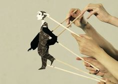 Hand-manipulated Paper Puppets in Sasanomaly's Music Video