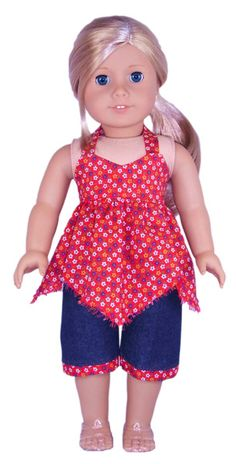 Georgia wants clothes for her Rebecca doll.  Anything from swimwear to sweatshirts would be fine.