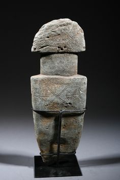 Carved stone Bura, Niger Valley, c. 1000CE