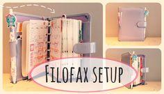 My pocket Filofax setup