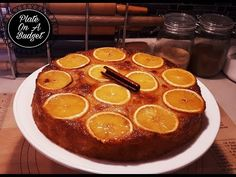 GREEK ORANGE PHYLLO CAKE - PORTOKALOPITA - YouTube