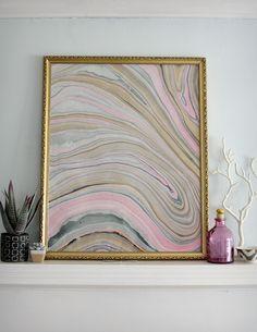 25 Dazzling Gem and Geode Decor DIYs via Brit + Co.