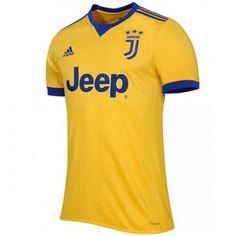 b5ca4b58c 17-18 Juventus Away Yellow Soccer Jersey Shirt Maillot 2017
