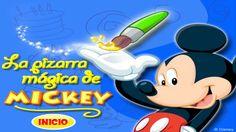 La Pizarra Mágica de Mickey - Juegos de La Casa de Mickey Mouse - Playhouse Disney Juegos