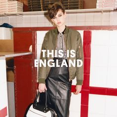 Boyish silhouettes round up this gritty 1980s inspired collection.