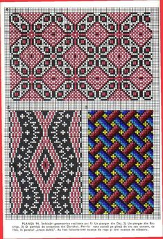 Embroidery Patterns, Hand Embroidery, Simple Cross Stitch, Craft Patterns, Bohemian Rug, Diy Crafts, Costumes, Traditional, My Love