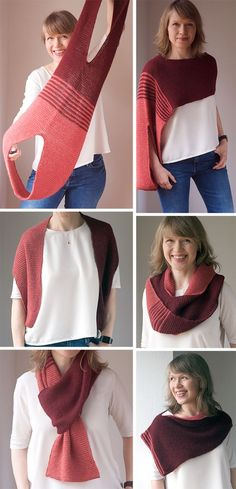 Knitting Pattern for Easy Loops Convertible Accessory - Loops is the one accesso. Seam , Knitting Pattern for Easy Loops Convertible Accessory - Loops is the one accesso. Knitting Pattern for Easy Loops Convertible Accessory - Loops is t. Loom Knitting, Free Knitting, Knitting Ideas, Knitting Scarves, Beginner Knitting, Knitting Machine, Knitting Designs, Crochet Clothes, Diy Clothes