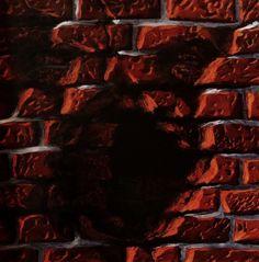 Z serii - Fasady, akryl na płycie / Series - Facades, acrylic on board / 60x60 cm, 2014 / http://pawgalmal.blogspot.com