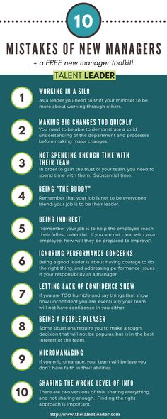 If you're a new, young, or millennial manager, you NEED to read this! Avoid these mistakes that will kill your credibility as a new manager! Great leadership advice and tips on how to be an awesome manager. #leadership #manager
