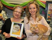 Mardi Gras goes to the cats: The Cat Practice Veterinary Hospital hosted the 13th annual bal masque featuring the all-feline Krewe of Endymeow. Via nola.com/society #cats #mardigras
