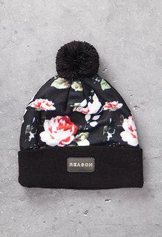 Reason Floral Print Beanie | FOREVER21 - 2000078781