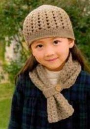 Una locura de ideas: Gorro de ganchillo para niña, patrón y paso a paso.  ❥Teresa Restegui http://www.pinterest.com/teretegui/ ❥