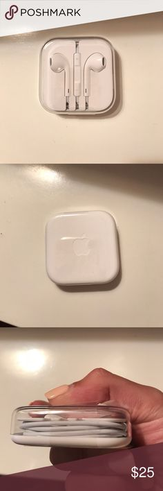 BRAND NEW Apple earbud headphones for iPhone 6s BRAND NEW Apple earbud headphones for iPhone 6s. Never used still sealed. apple Accessories