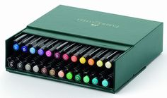 Amazon.com: Faber-Castel Pitt Artist Brush Pens (24 Pack), Multicolor