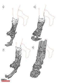 Edge of Tomorrow Concept Art by Jon McCoy