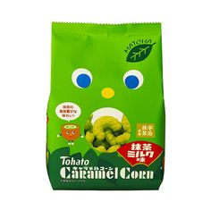 TOHATO Uji Matcha Green Tea Caramel Corns x 3 Boxes – Made in Japan - TAKASKI.COM Matcha Milk, Uji Matcha, Matcha Green Tea, Japanese Snacks, Japanese Sweets, Caramel Biscuits, Corn Grits, Japan Country, Creative Snacks