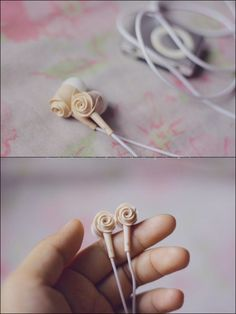 Rose Earbuds :)
