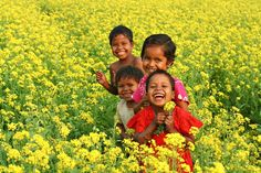 Indonesian children. Happiness, happiness and happiness