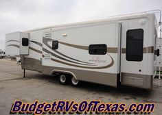 Stunning 3 Slide 36ft Luxury 5th Wheel Mobil Suites By Double Tree RV | ...