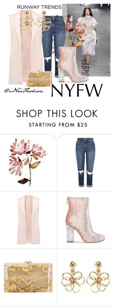 """""""Untitled #666"""" by inaifashion ❤ liked on Polyvore featuring Rebecca Minkoff, Charlotte Olympia, Oscar de la Renta, NYFW, contest, contestentry, fashionset and womensFashion"""