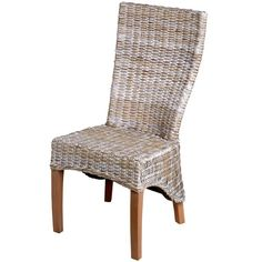 Dining Room, Rustic Rattan Dining Chairs Made: Adding the Aesthetic Look Using the Rattan Dining Chairs