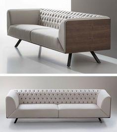 B&V ikon design by alegre design sofa couch furniture, sofa furn Living Room Sofa Design, Living Room Designs, Living Room Decor, Couch Furniture, Furniture Design, Office Sofa, Wooden Sofa, Luxury Sofa, Repurposed Furniture